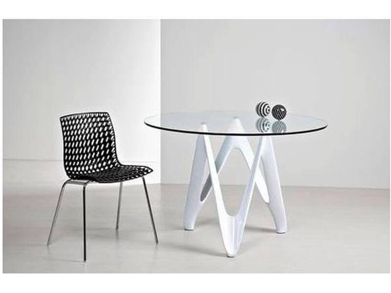 Стол обеденный круглый 120 см италия